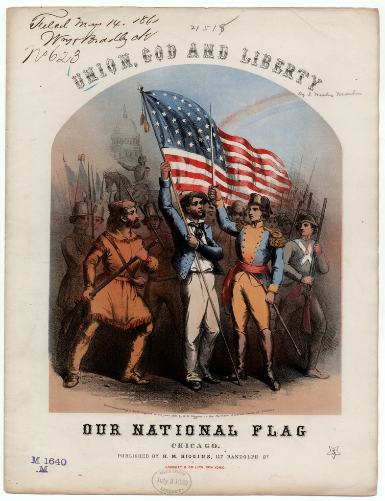 Union, God and liberty