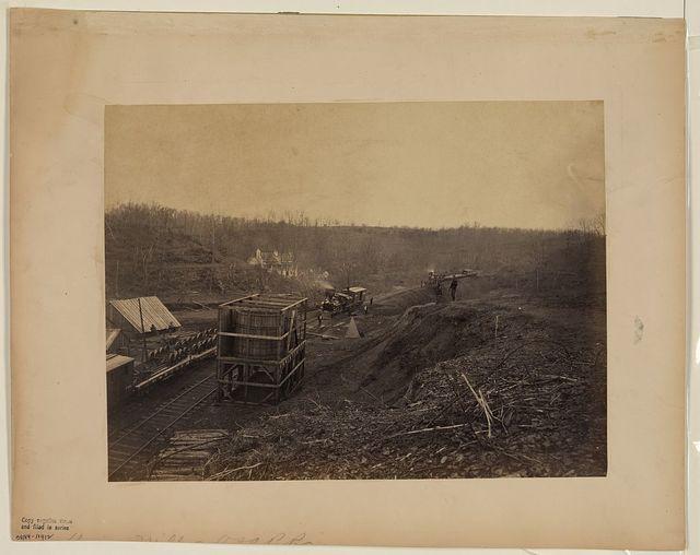 Union Mills Station, Orange & Alexandria Railroad