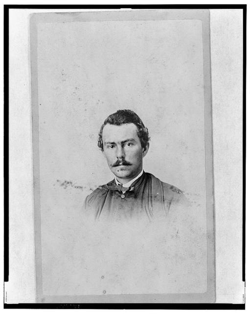 [Union officer in the 32nd Indiana Regiment, full-length portrait, facing front] / photographed by E. & J. Bruening.