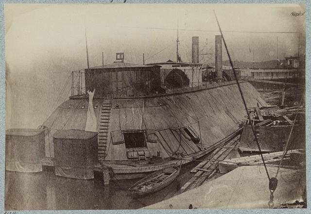 U.S. gunboat Essex - Mississippi River Fleet