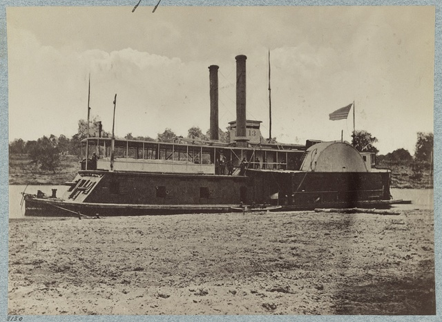 U.S. gunboat Fort Hindman - Mississippi River Fleet