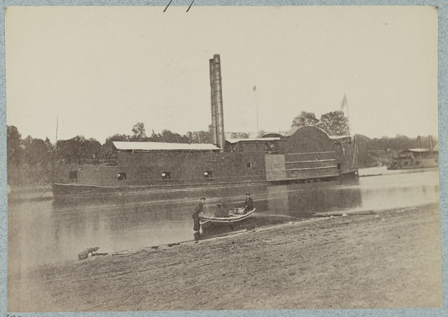 U.S. gunboat Lexington [i.e. Tyler] - Mississippi River Fleet