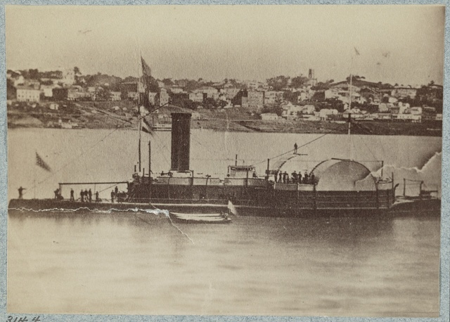 U.S. gunboat Vindicator
