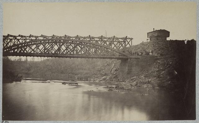U.S. Military Railroad Bridge, Bull Run, Va. Orange and Alexandria R.R.