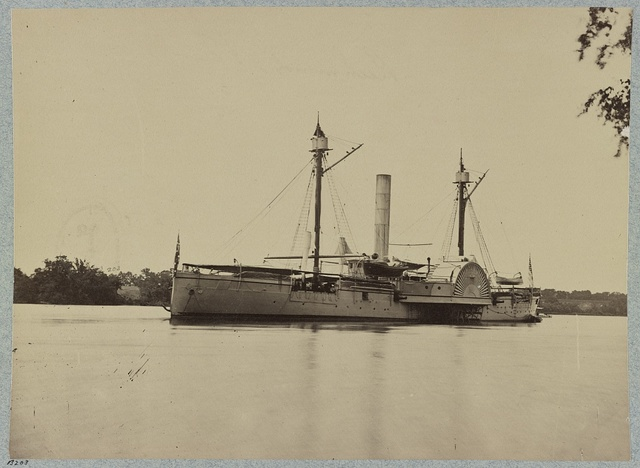U.S.S. Mendota, James River, Va.