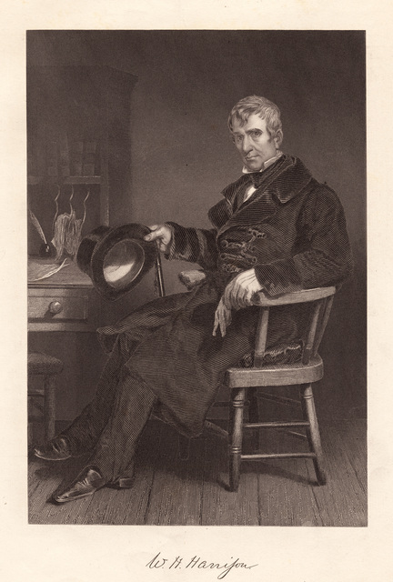 W. H. Harrison : from the original painting by Chappel in the possession of the publishers