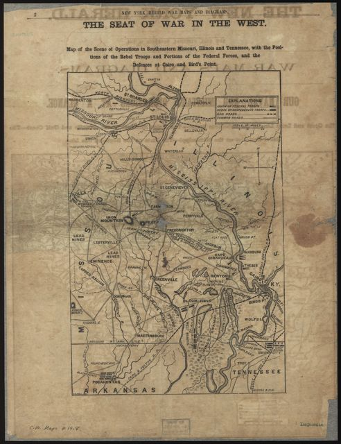 War maps and diagrams