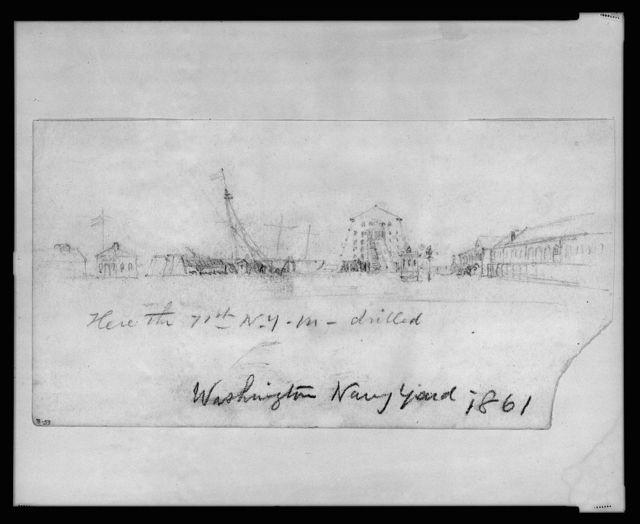 Washington Navy Yard, 1861