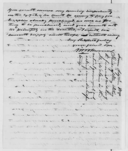 William B. Thomas to Abraham Lincoln, Sunday, September 15, 1861  (Military preparations in Illinois)