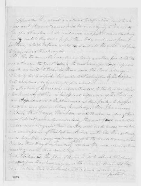 William D. C. Murdock to Abraham Lincoln, Friday, May 10, 1861  (Military advice)