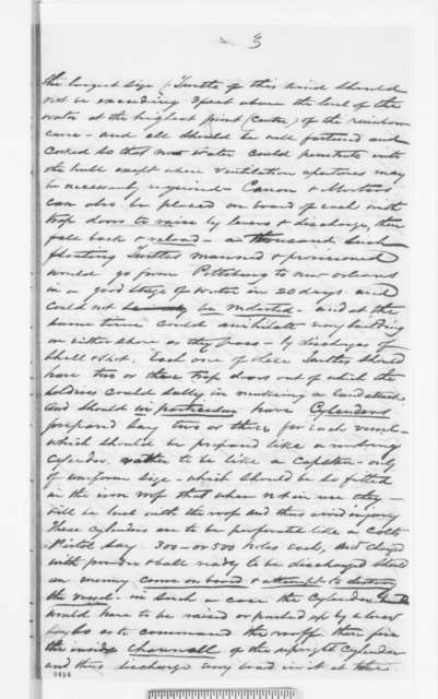 William McBean to Abraham Lincoln, Sunday, April 28, 1861  (Military advice)