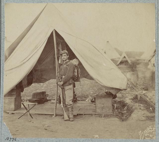22d New York State Militia near Harpers Ferry, Va., 1861 [i.e.1862]