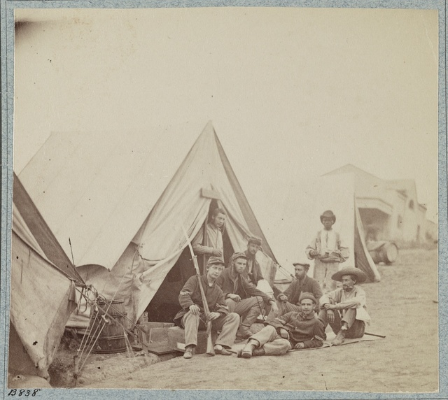22d New York State Militia near Harpers Ferry, Va., 1861 [i.e.1862]