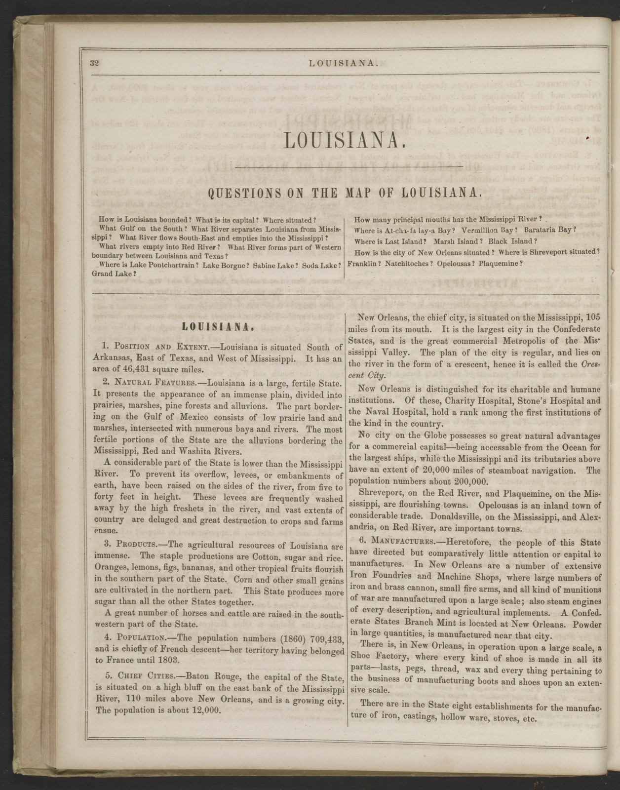 A system of modern geography, compiled from various sources and adapted to the present condition of the world, expressly for the use of schools and academies in the Confederate States of America.