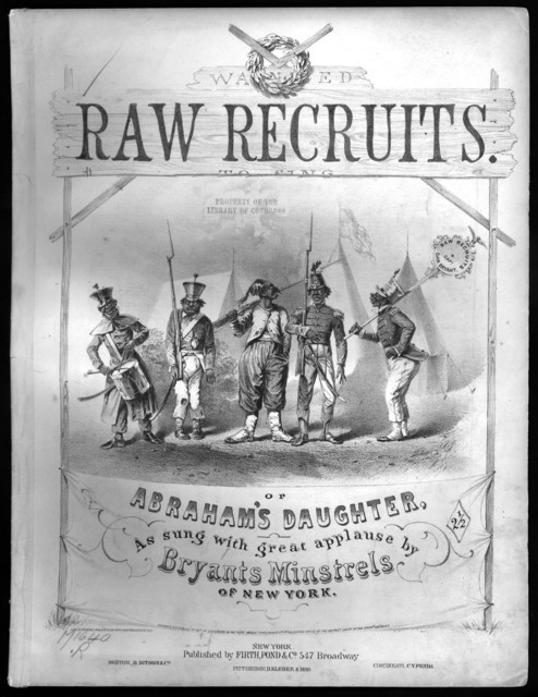 Abraham's daughter, or Raw recruits