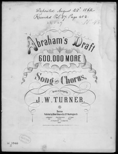 Abraham's draft