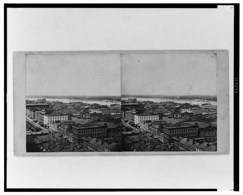 [Aerial view of commercial district of St. Louis, Missouri]