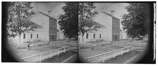 Alexandria, Virginia. Slave pen. (Price, Birch & Company dealers in slaves)