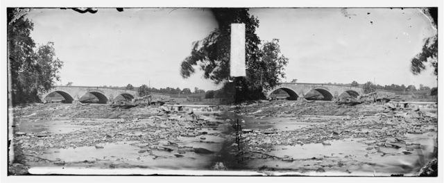Antietam, Maryland. Antietam bridge on Sharpsburg and Boonsboro turnpike