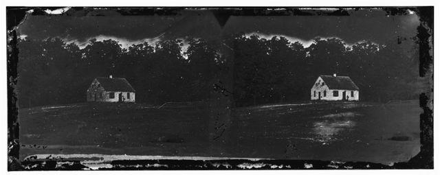 Antietam, Maryland. Dunker church on battlefield