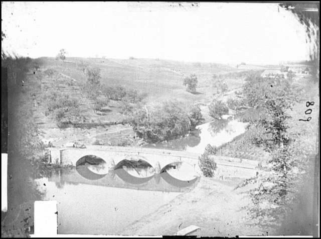 [Antietam, Md. Another view of Antietam bridge]