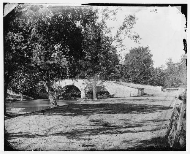 [Antietam, Md. Burnside's bridge]