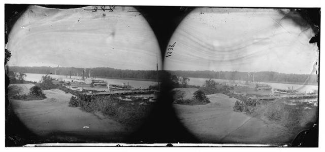 Appomattox River, Virginia. Medical supply boat PLANTER