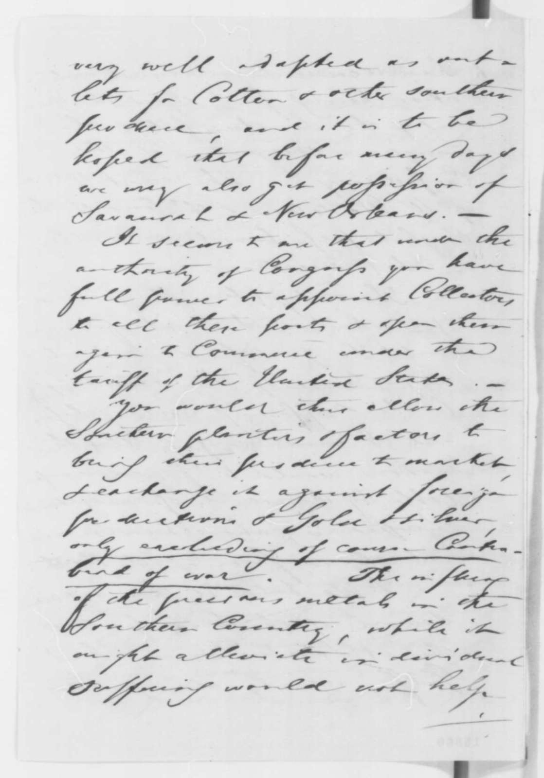 August Belmont to Abraham Lincoln, Friday, May 09, 1862  (Relations with Europe)