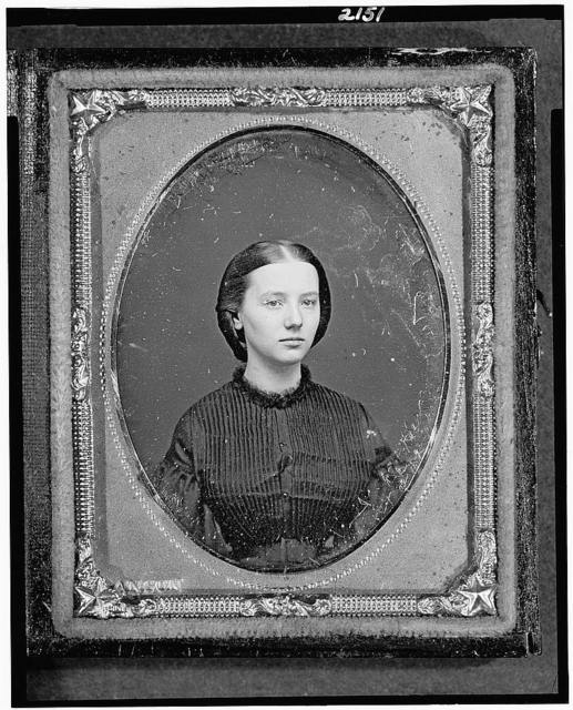 [Augusta Currie Bradhurst Field, head-and-shoulders portrait of a woman, facing slightly right]