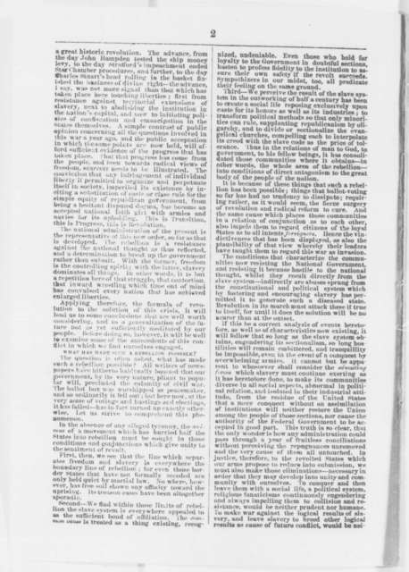 B. Gratz Brown, Wednesday, September 17, 1862  (Pamphlet)