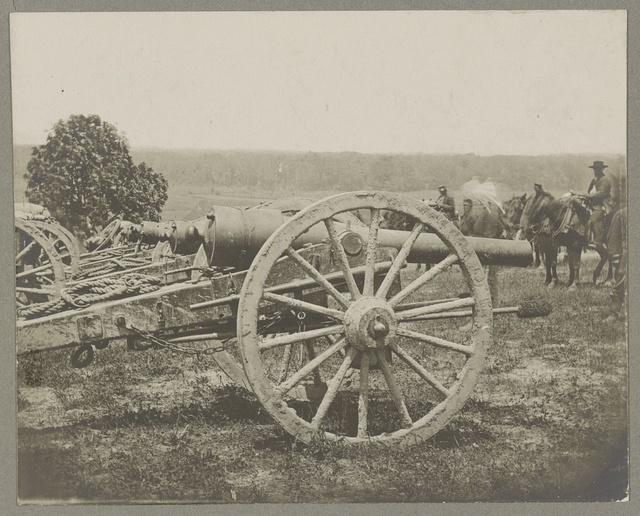Battery - 1st N.Y. Artillery Battalion near Fair Oaks, June 1862