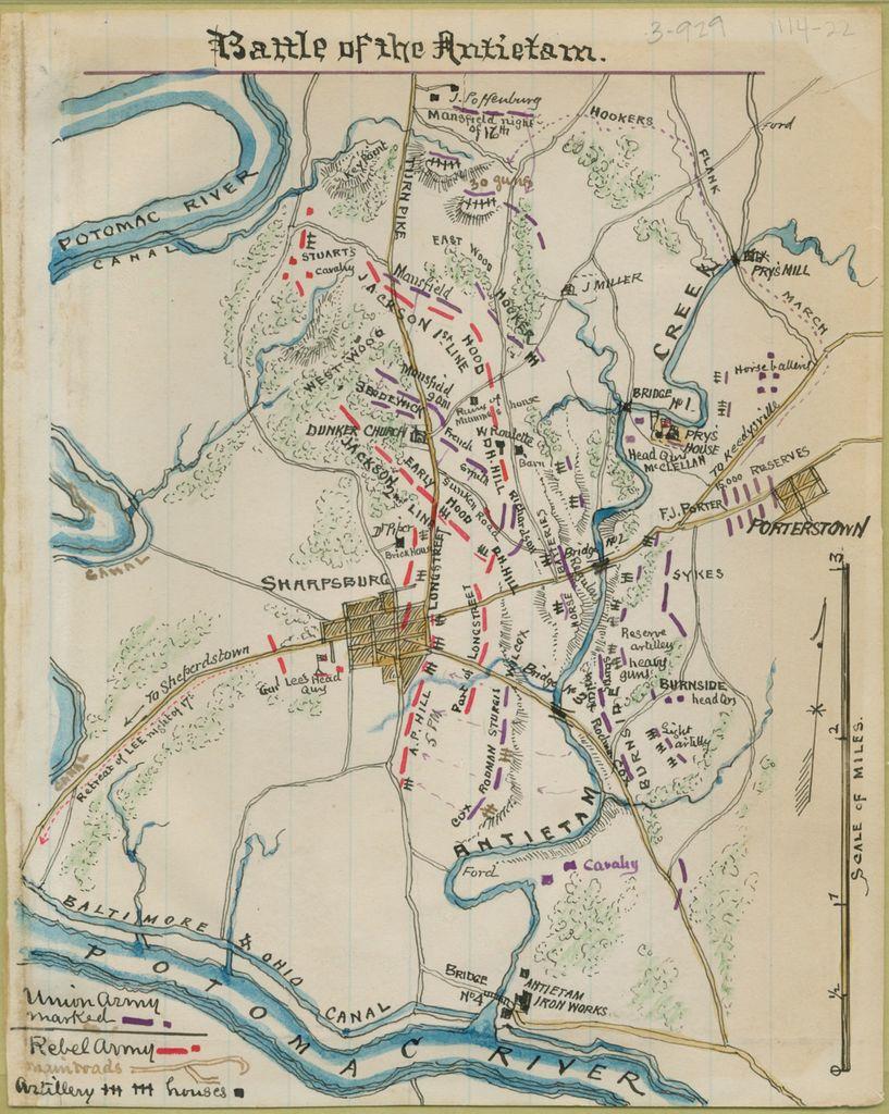 Battle of the Antietam.