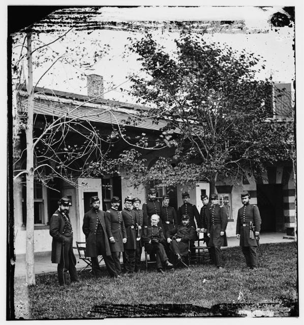 Brig. Gen. Mathew [Martin?] Burke & staff.