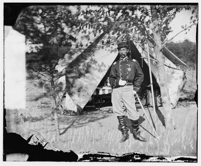 Bull Run, Virginia (vicinity). Col. Alfred Duffie, 1st Rhode Island Cavalry