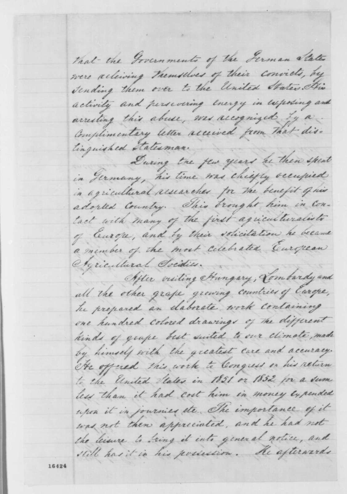 Charles L. Fleischmann, June 1862  (Biographical sketch)