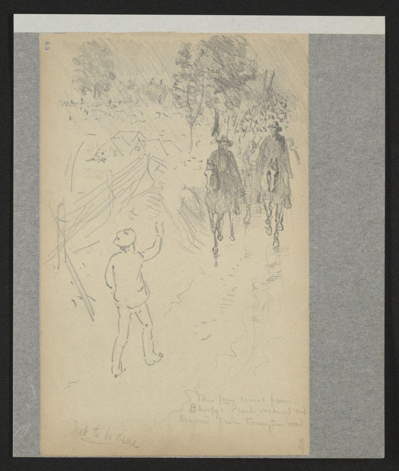Charles Wellington Reed Papers: Sketchbooks, 1863-1887, undated; Nos. 1-10, leaves 1-415