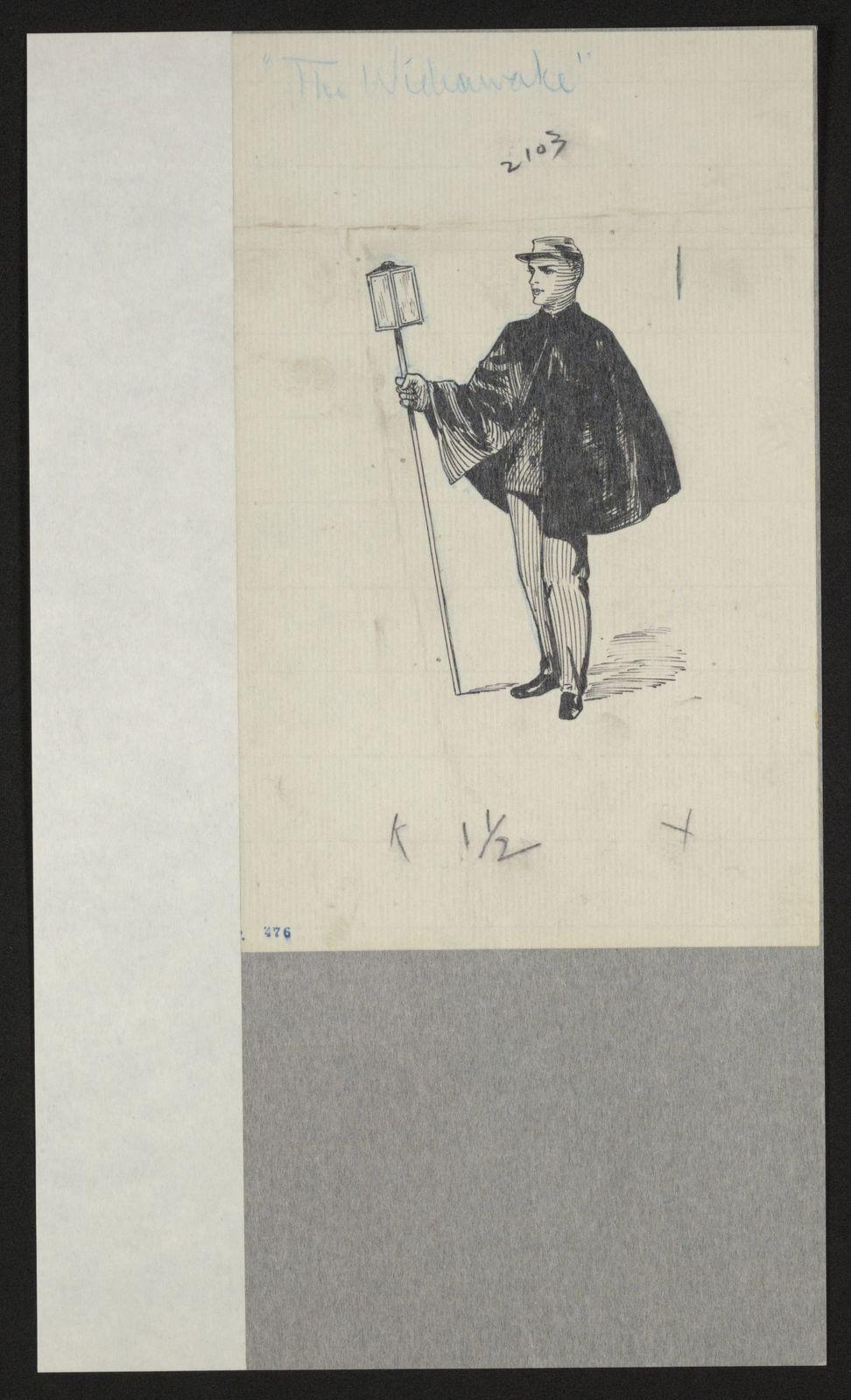 Charles Wellington Reed Papers: Sketchbooks, 1863-1887, undated; Unnumbered, leaves 416-650