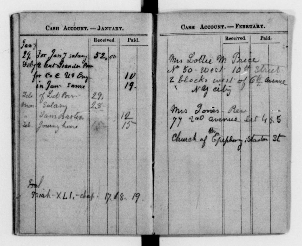 Clara Barton Papers: Diaries and Journals: 1862, Jan.-Dec.; 1865