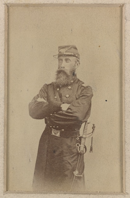 [Colonel Francis L. Lee of 4th Massachusetts Infantry Battalion and 44th Massachusetts Infantry Regiment in uniform with sword]