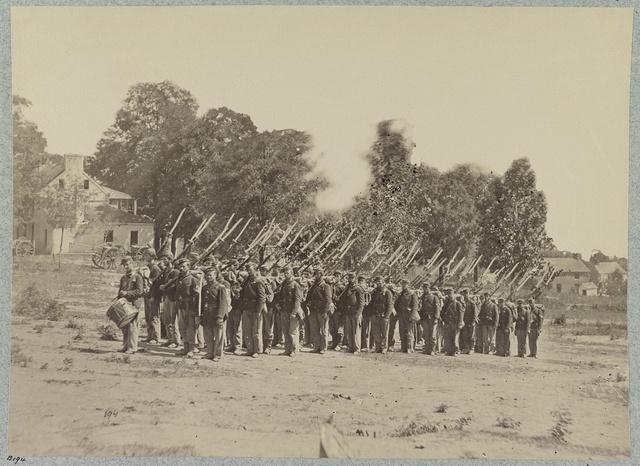 Company G, 22d New York State Militia near Harpers Ferry, Va., 1861 [i.e.1862]