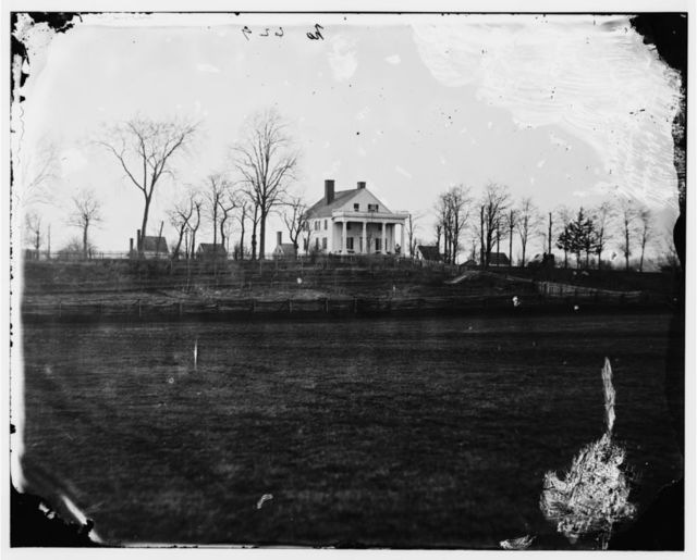 Culpeper, Virginia (vicinity). Residence of John Minor Botts