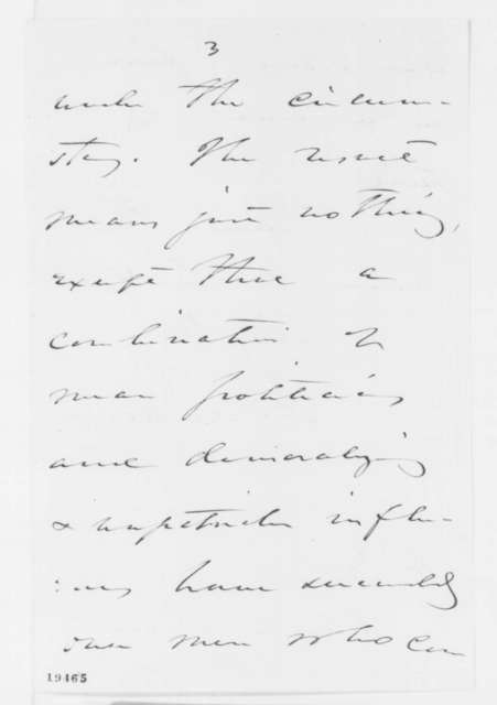 Daniel S. Dickinson to Abraham Lincoln, Sunday, November 09, 1862  (New York election results and military affairs)