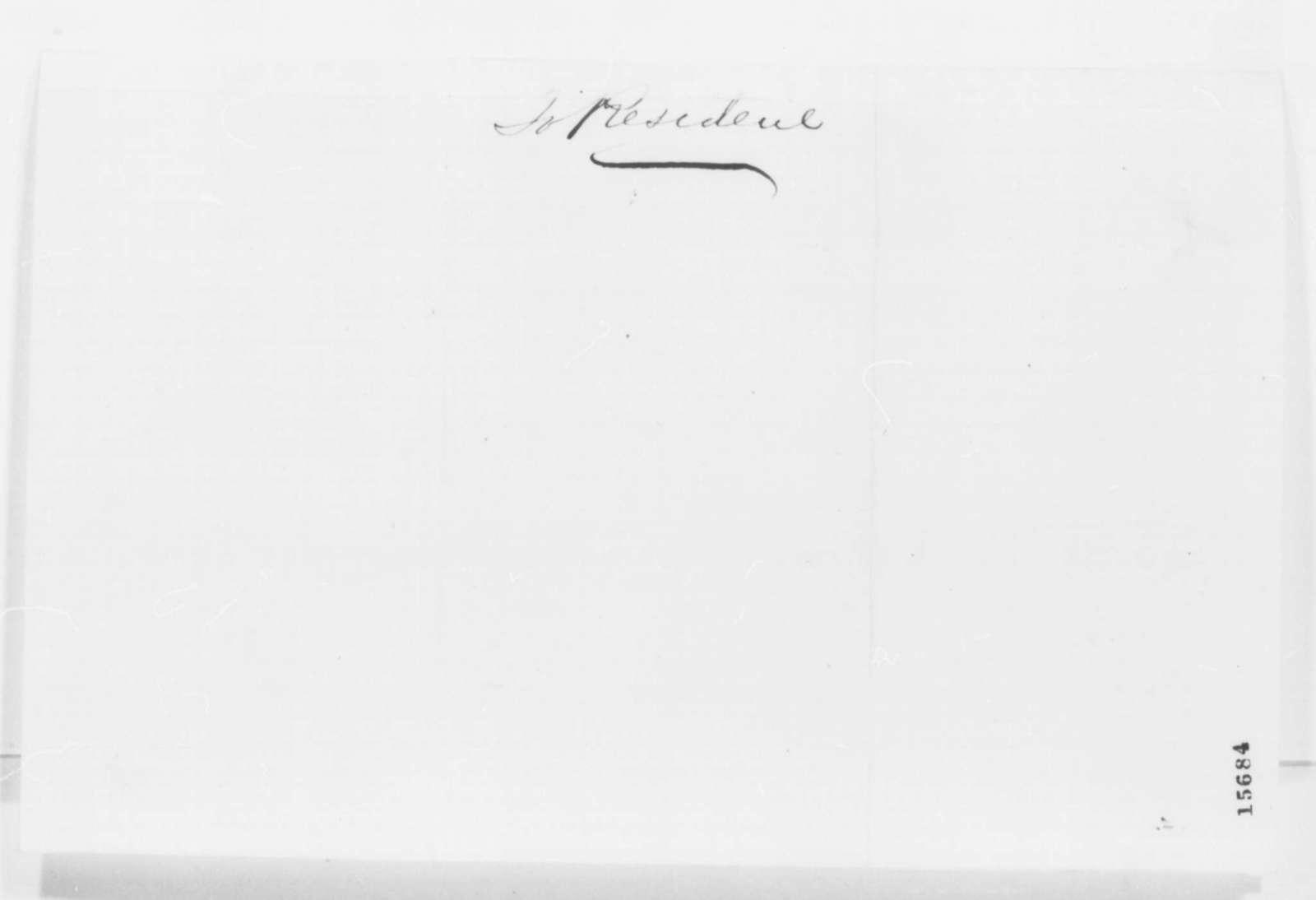 Eliakim Littell to Francis P. Blair Sr., Friday, April 25, 1862  (Recommendation)