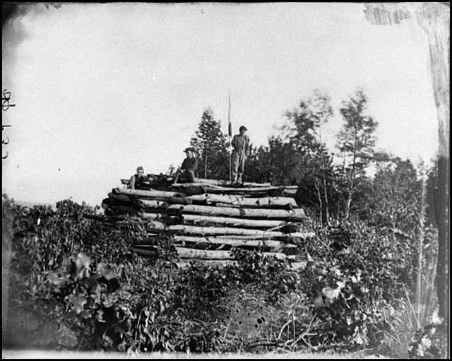 [Elk Mountain, Md.  Signal tower overlooking Antietam battlefield]