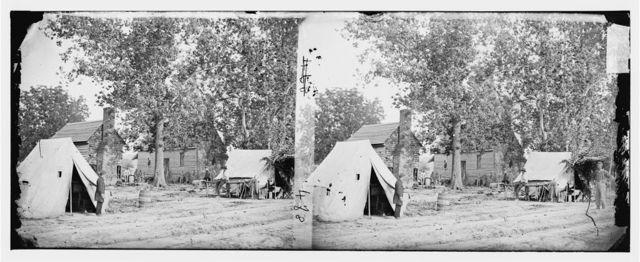 Fair Oaks, Virginia. Old frame house on Fair Oaks battlefield used by Hooker's Division as a hospital