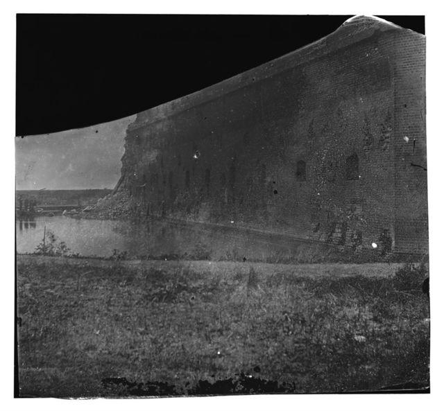 Fort Pulaski, Georgia. Front view