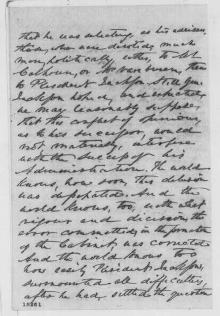 Francis Thomas to Abraham Lincoln, Saturday, September 06, 1862  (Cabinet advice)