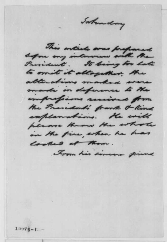 Franz Sigel to Abraham Lincoln, Saturday, December 06, 1862  (Military affairs)