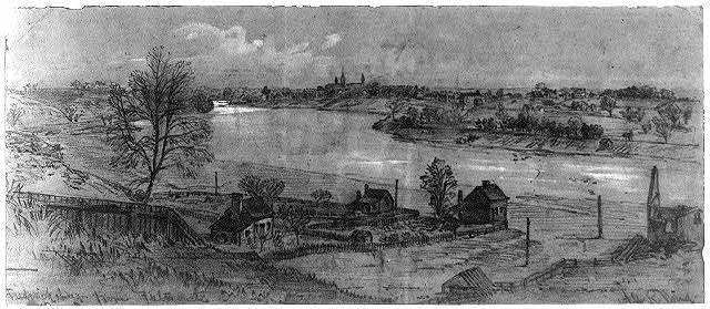 Fredericksburg from Falmouth