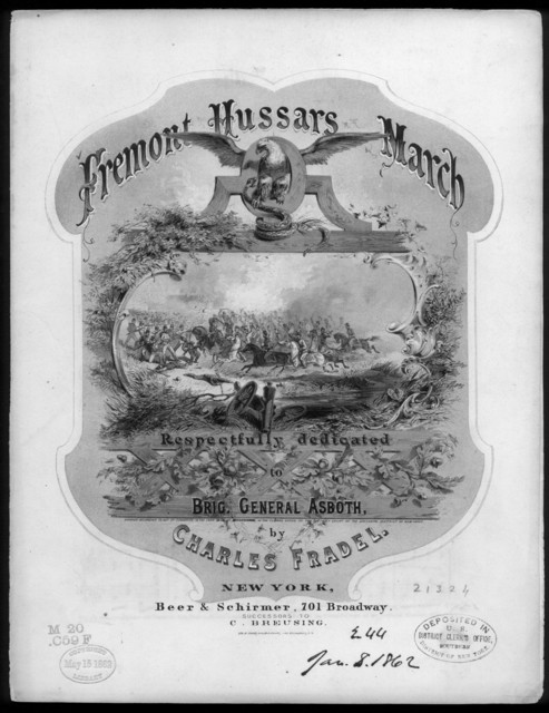 Fremont hussars march